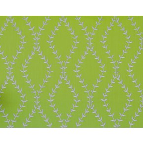 Fiorella Fern Lime Curtain Fabric