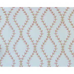 Fiorella Fern Rosebud Curtain Fabric