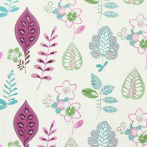 Jamboree Ferris Grape Curtain Fabric