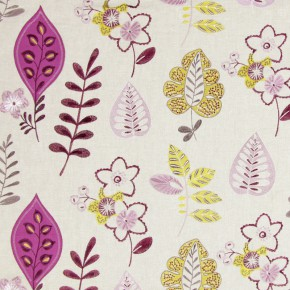 Jamboree Ferris Mulberry Curtain Fabric