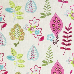 Jamboree Ferris Orchid Curtain Fabric