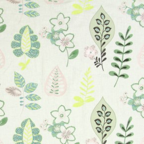 Jamboree Ferris Peppermint Curtain Fabric