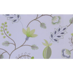 Fiorella Fiorella Avocado Curtain Fabric