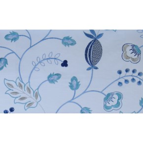 Fiorella Fiorella Indigo Made to Measure Curtains