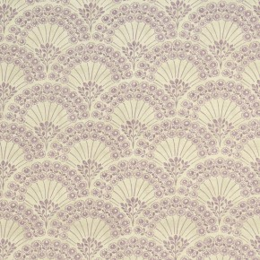 Clarke and Clarke Bloomsbury Fitzvroy Heather Roman Blind