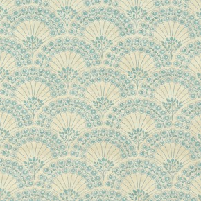 Clarke and Clarke Bloomsbury Fitzvroy Mineral Curtain Fabric