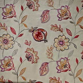 Prestigious Textiles Samba Flamenco Spice Curtain Fabric