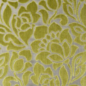 Clarke and Clarke Academy Velvets Florentine Citrus Curtain Fabric