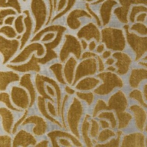 Clarke and Clarke Academy Velvets Florentine Dijon Made to Measure Curtains