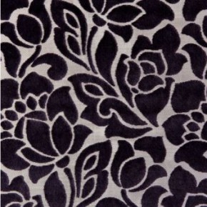 Clarke and Clarke Academy Velvets Florentine Purple Curtain Fabric