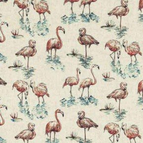 Clarke and Clarke Countryside Florida Linen Curtain Fabric