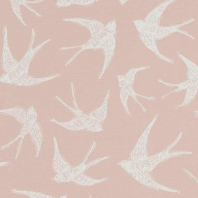 A Land & Sea Fly Away Sorbet  Curtain Fabric