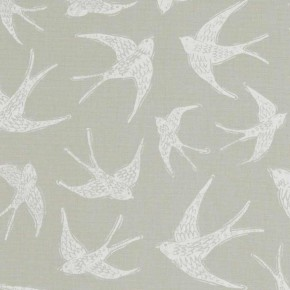 A Land and Sea Fly Away Taupe Curtain Fabric