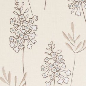 Clarke and Clarke Wild Garden Foxglove Mineral Made to Measure Curtains