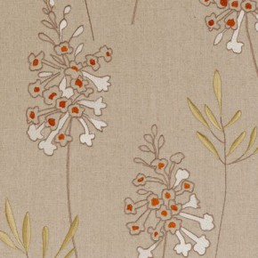 Clarke and Clarke Wild Garden Foxglove Spice Made to Measure Curtains