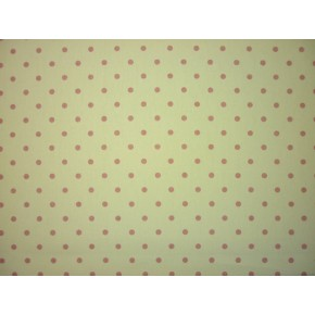 Full Stop Full Stop Pink Curtain Fabric