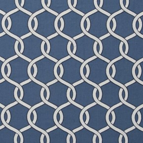 Clarke and Clarke Zanzibar Gama Indigo Made to Measure Curtains