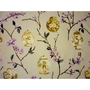 DrawingRoom Ginger Jars Dusk Curtain Fabric
