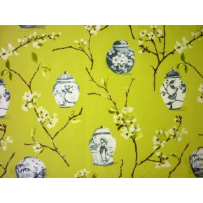DrawingRoom Ginger Jars Willow Curtain Fabric