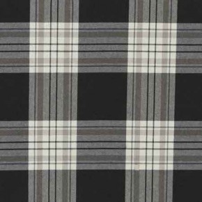 Clarke and Clarke Glenmore Clarke and Clarke Glenmore Charcoal Curtain Fabric