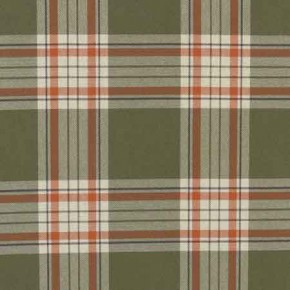Clarke and Clarke Glenmore Clarke and Clarke Glenmore Olive Curtain Fabric