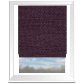 Nantucket Grape Roman Blind