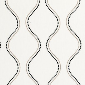 Clarke and Clarke Atmosphere Groove Natural Curtain Fabric