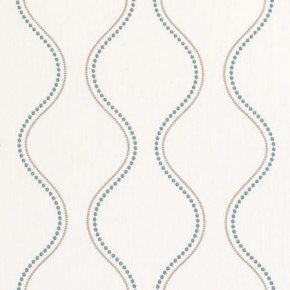 Clarke and Clarke Atmosphere Groove Teal Roman Blind