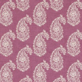 Clarke and Clarke Genevieve Harriet Mulberry Curtain Fabric