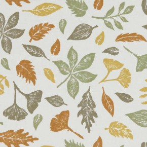 A Land and Sea Hawthorn Autumn  Curtain Fabric