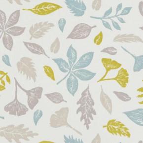 A Land & Sea Hawthorn Mineral Curtain Fabric