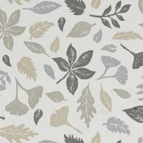 A Land & Sea Hawthorn Natural Curtain Fabric