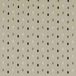 Clarke and Clarke Richmond Healey Charcoal Curtain Fabric