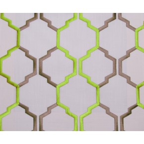 Helix Helix Lime Curtain Fabric