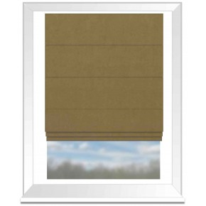 Clarke and Clarke Altea Hemp Roman Blind