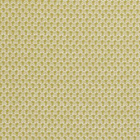 Clarke and Clarke Salon Honore Citron Curtain Fabric