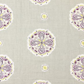 Jamboree Hoopla Mulberry Curtain Fabric