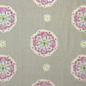 Jamboree Hoopla Orchid Curtain Fabric