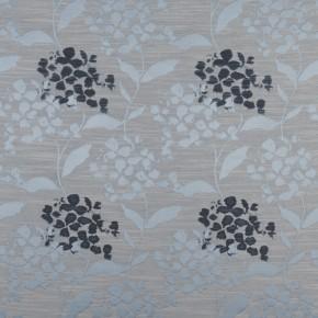 Prestigious Textiles Eden Hydrangea Bluebell Curtain Fabric