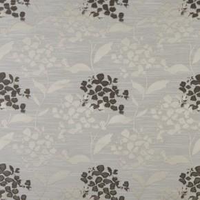 Prestigious Textiles Eden Hydrangea Praline Curtain Fabric