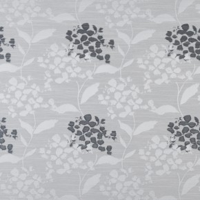 Prestigious Textiles Eden Hydrangea Sterling Curtain Fabric