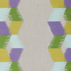 Clarke and Clarke South Beach Inca Citrus Curtain Fabric