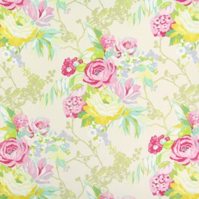 Paradise Indonesia Peony Curtain Fabric