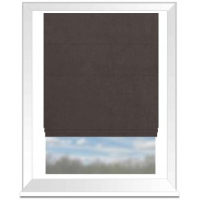 Clarke and Clarke Altea Iron Roman Blind