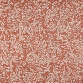 Prestigious Textiles Devonshire Ivybridge Paprika Curtain Fabric