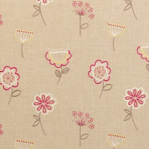 Clarke and Clarke Festival Jubilee Sorbet Curtain Fabric