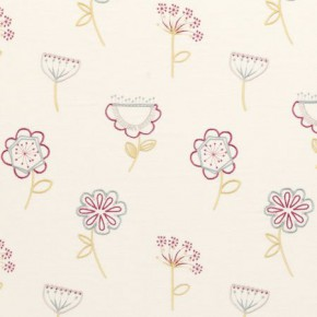 Clarke and Clarke Festival Jubilee Summer Curtain Fabric