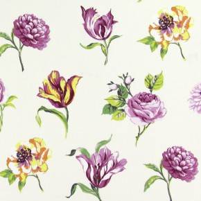 Prestigious Textiles Blossom Juliette Cassis Made to Measure Curtains