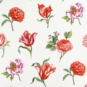 Prestigious Textiles Blossom Juliette Geranium Made to Measure Curtains
