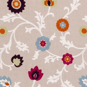 Clarke and Clarke Kashmir Summer Curtain Fabric